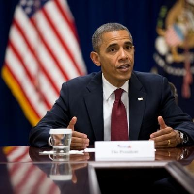 Президент США Барак Обама начинает визит в Мьянму