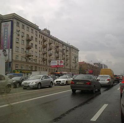 Более 4,5 млн человек передвигалось на общественном и личном транспорте в Москве 25 мая