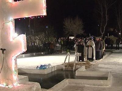 Процесс Крещенских купаний в Москве будет транслироваться в интернете