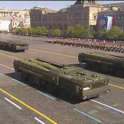 Военную технику для 9 мая передислоцировали из Алабина в Москву