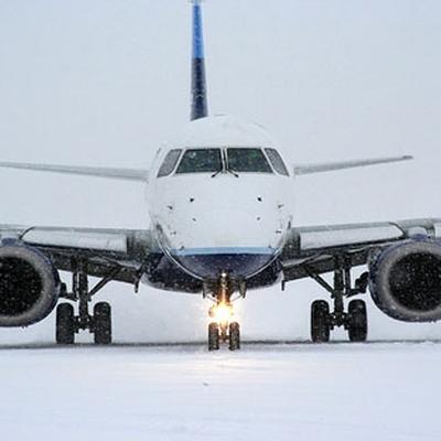 Около 170 рейсов было отменено сегодня утром в аэропорту Франкфурта-на-Майне из-за снегопада