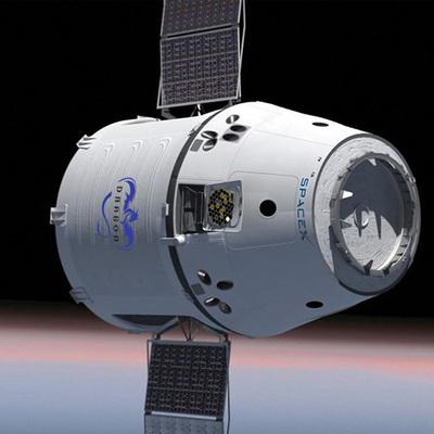 Космический грузовой корабль Dragon с грузами с МКС приводнился в Тихом океане