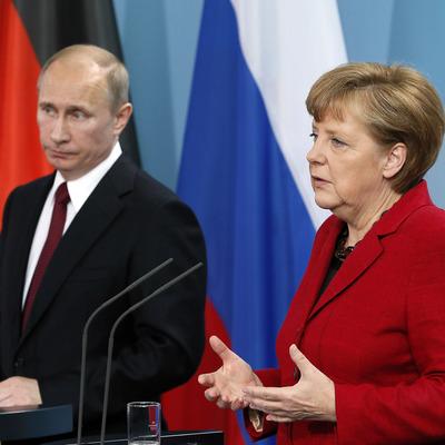 Владимир Путин и Ангела Меркель проведут переговоры в Берлине