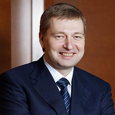 Российский бизнесмен и президент