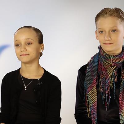 Елизавета Ульянова и Данила Борискин