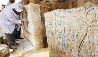 """Российские археологи нашли """"Белые стены Мемфиса""""."""