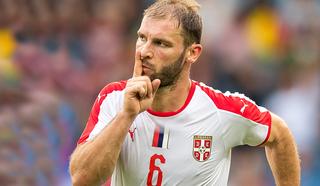Сербский защитник Иванович начнет матч со сборной Швейцарии в стартовом составе
