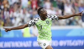 Победу Нигерии над Исландией обеспечил дубль Мусы