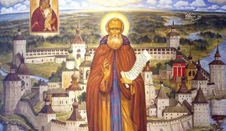 Кирилл Белозерский,  основатель Кирилло-Белозерского монастыря, преподобный Русской церкви
