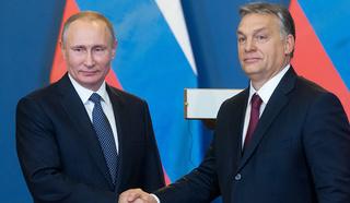 Путин поблагодарил президента Венгрии за оценку организации ЧМ-2018