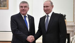 Глава МОК Бах: мир очарован радушием россиян во время футбольного форума