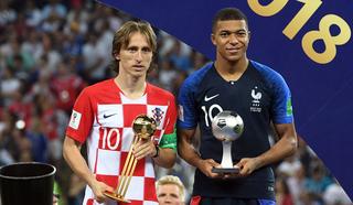 Лука Модрич признан лучшим футболистом чемпионата мира в России