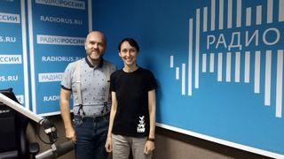 Дмитрий Конаныхин и Мария Фаликман  в студии