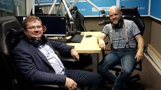 Степан Калмыков и Дмитрий Конаныхин в студии