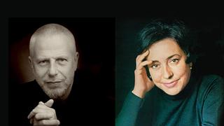 Владимир Фельцман, Советский, российский и американский пианист, и Алисия де Ларроча, испанская пианистка/ mondaviarts.org и discogs.com/