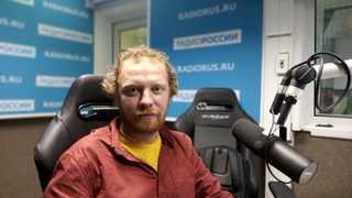 """Дмитрий Кононов в студии """"Радио России"""""""