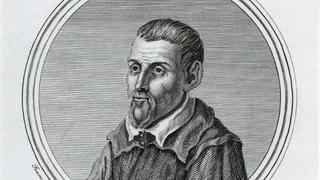 Грегорио Аллегри Романо, гравюра.  Создатель: Колдуолл, Джеймс. Гравер: Акила, Франческо Фараоне.