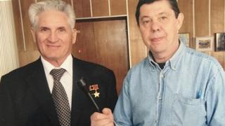 Борис Волынов  и Вячеслав Кирик