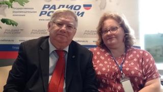 Михаил Иванович Михайлов и Ольга Сергеевна Копылова
