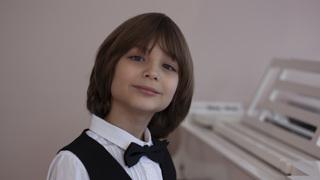 Роман Шер, пианист, 10 лет.  Фото  Вероника Шер.