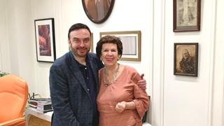 Дмитрий Бертман и Нина Лебедева