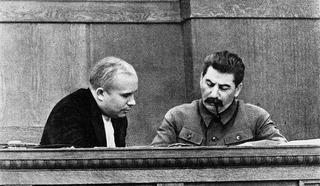 Никита Хрущёв и Иосиф Сталин, архив