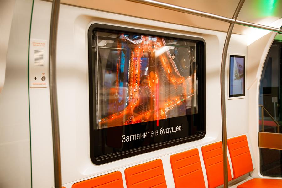 """""""Ростех"""" и LG представили окна-дисплеи для общественного транспорта"""