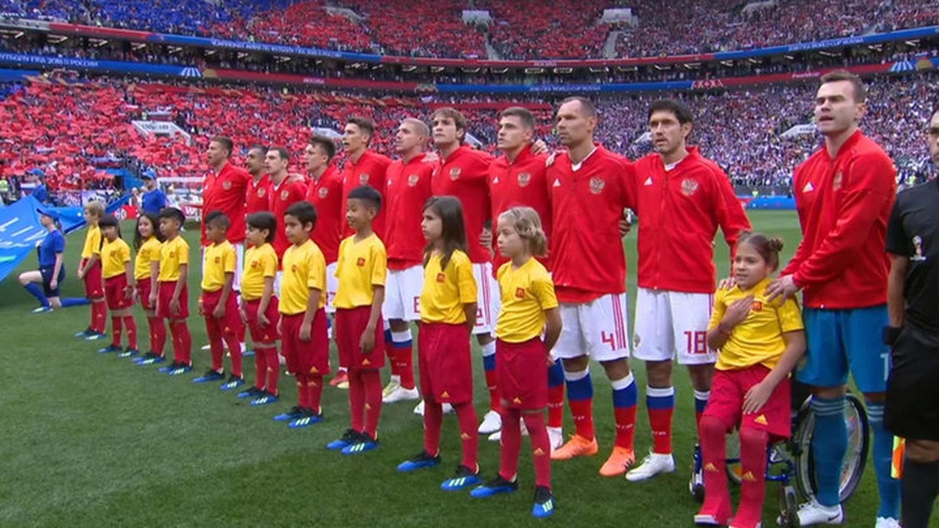 Сборная России стартовала на чемпионате мира матчем против Саудовской Аравии