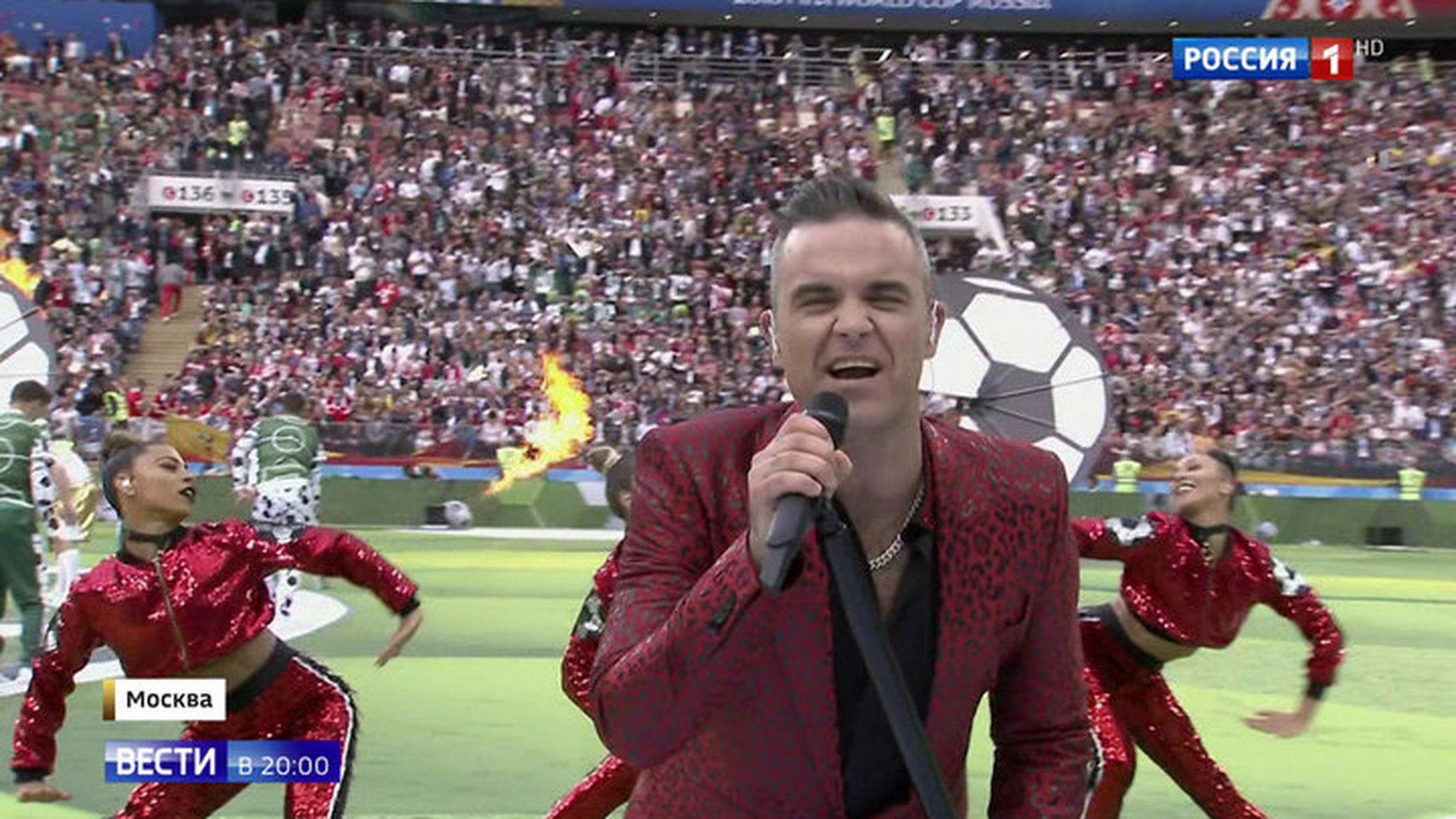 Путин призвал болельщиков к единству: самые яркие моменты открытия праздника футбола
