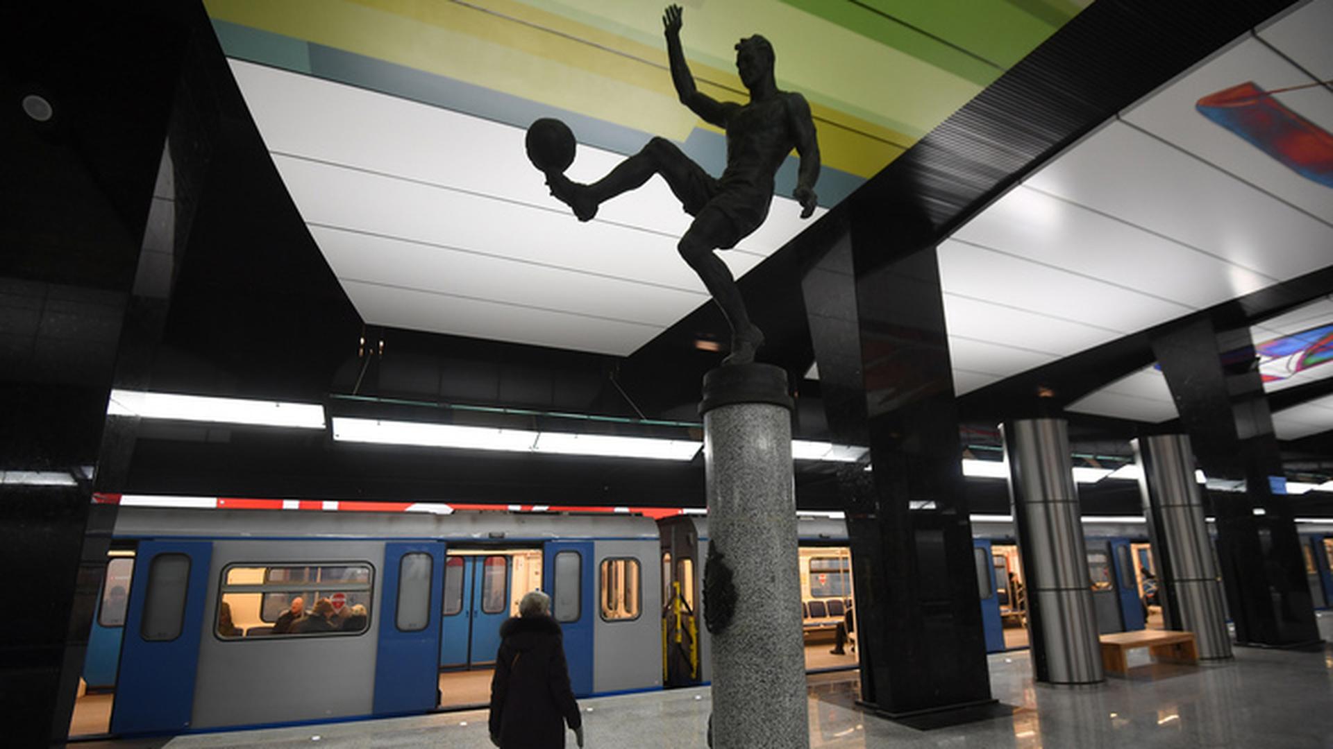 Из-за ЧМ по футболу метро Москвы четыре дня будет работать до 3:00