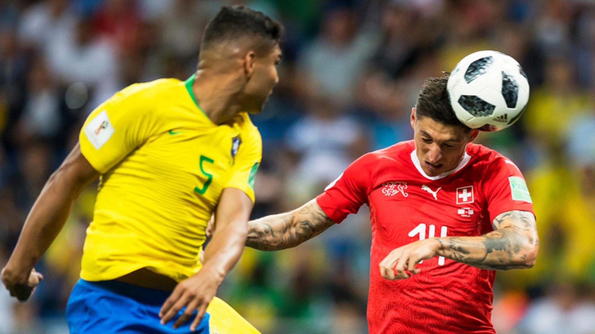 Сборная Бразилии сыграла вничью с командой Швейцарии