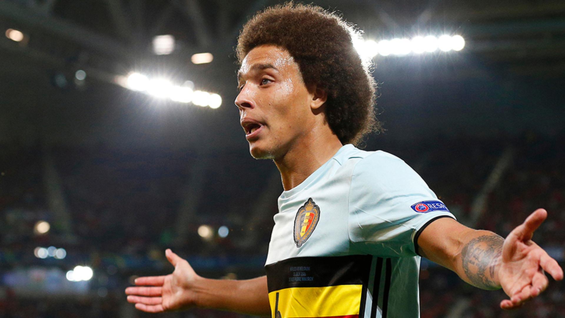 Витсель попал в стартовый состав сборной Бельгии на матч с Панамой