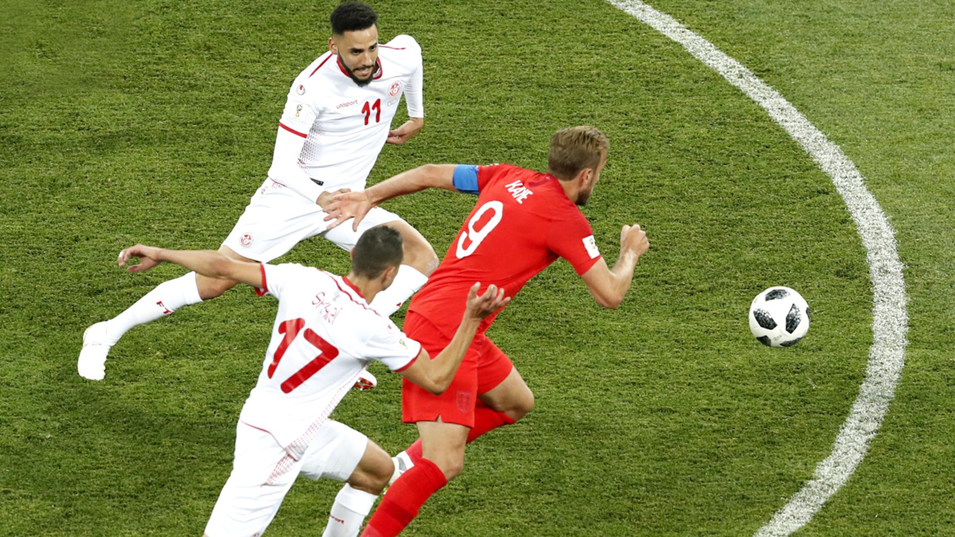 Гарри Кейн в добавленное время принес победу Англии над Тунисом