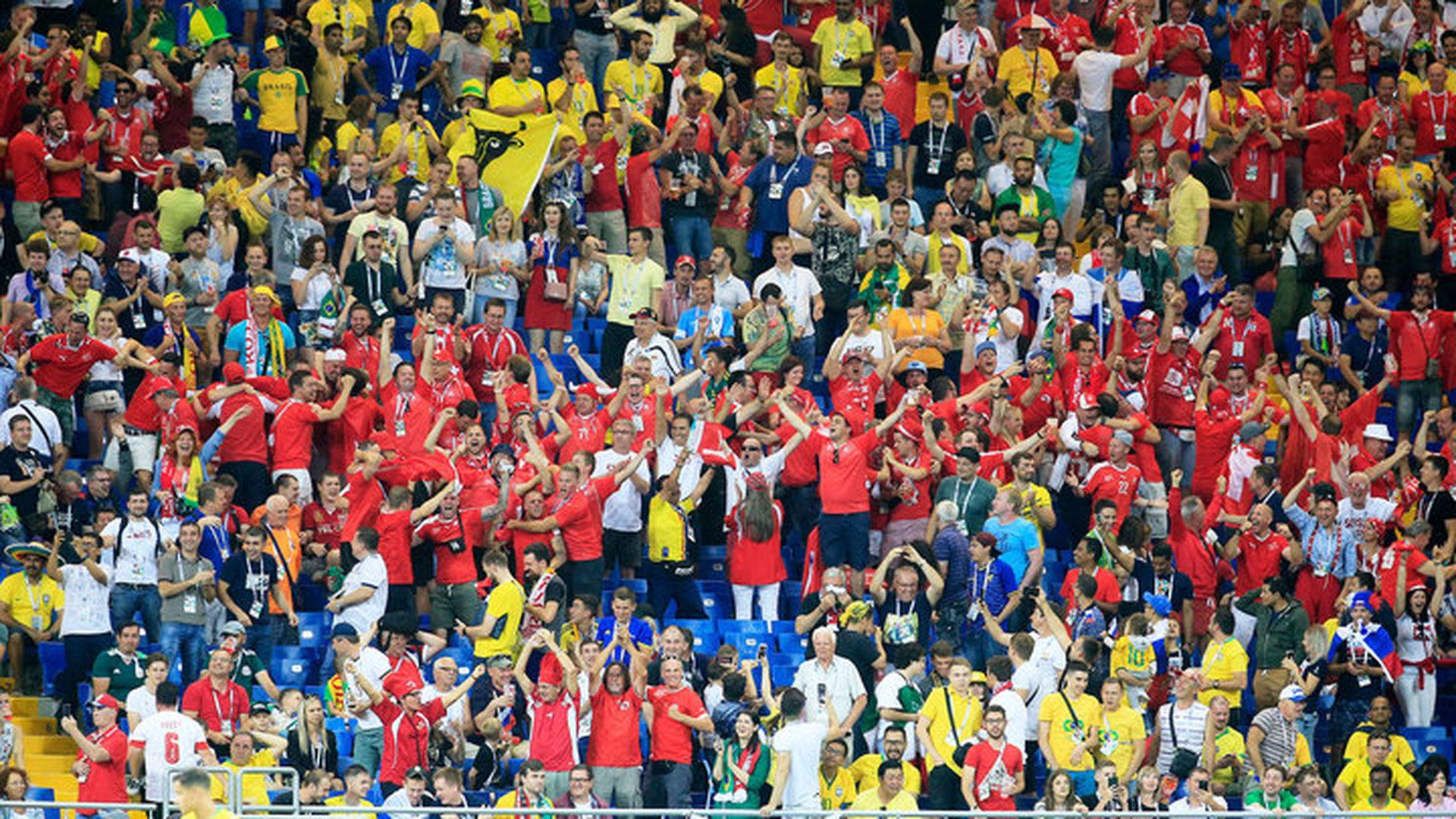 Более миллиона человек посетили матчи чемпионата мира