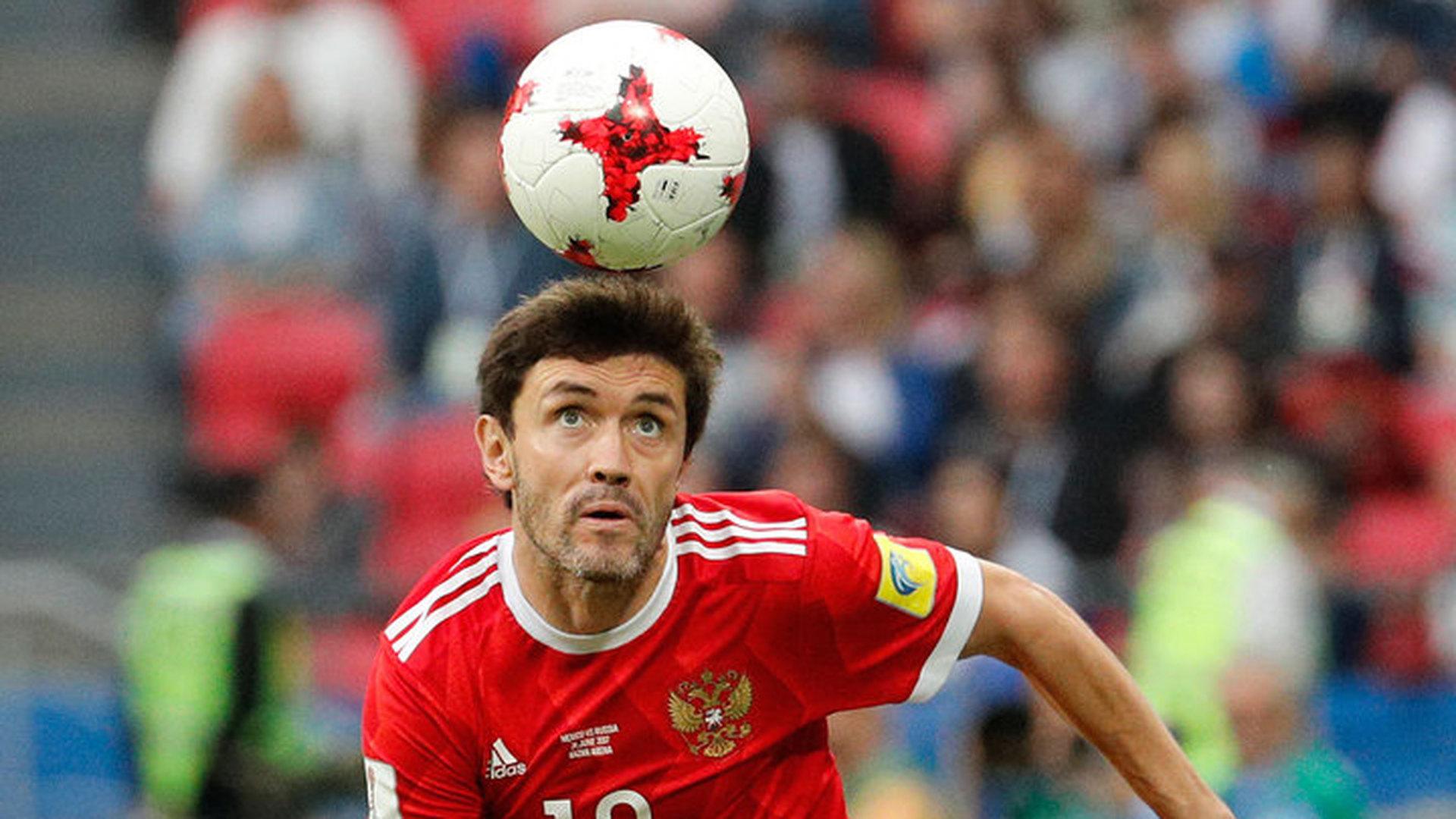 Юрий Жирков вернется в общую группу перед матчем с уругвайцами