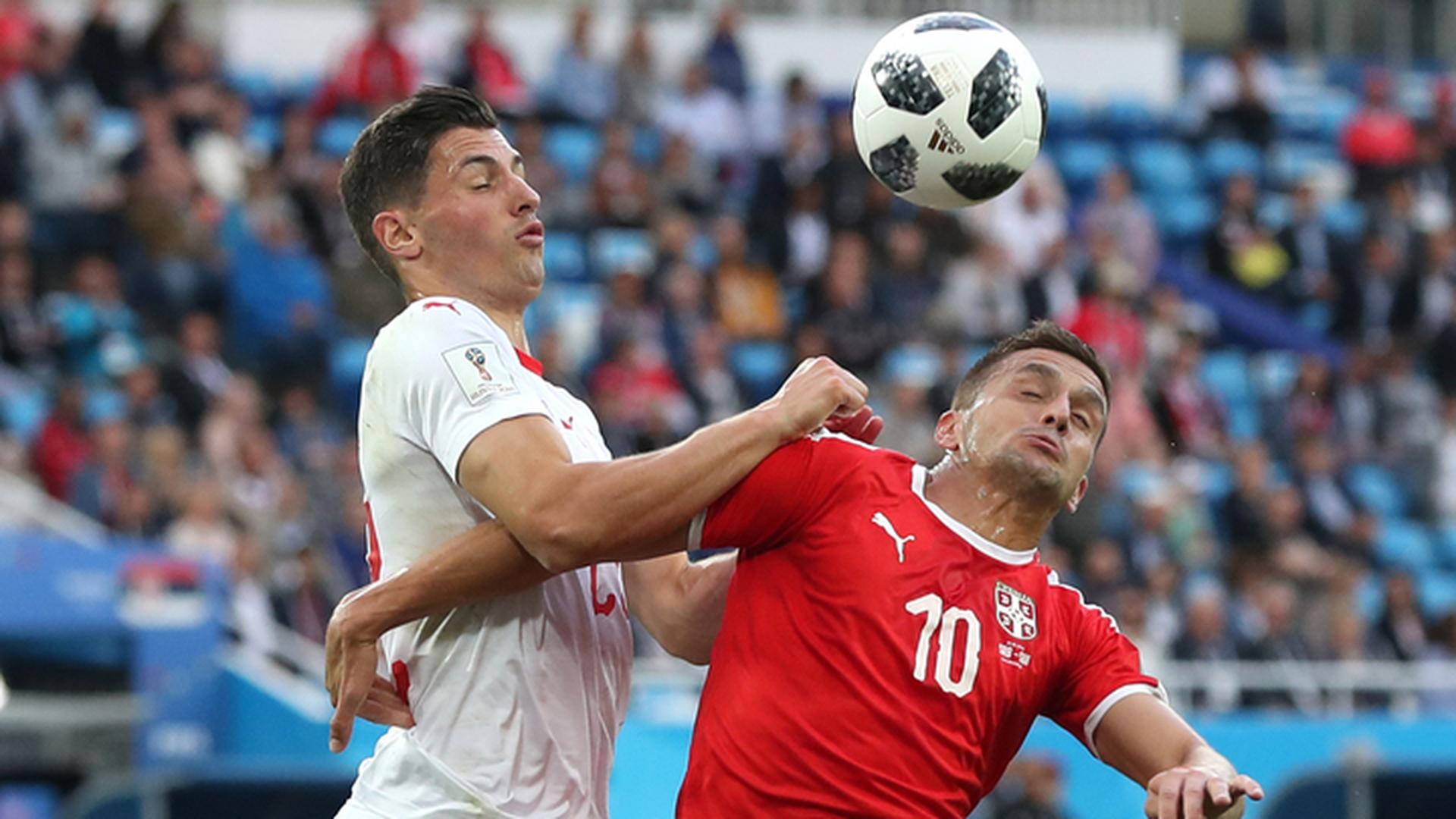 Сербы пожалуются в ФИФА на судейство в матче со швейцарцами