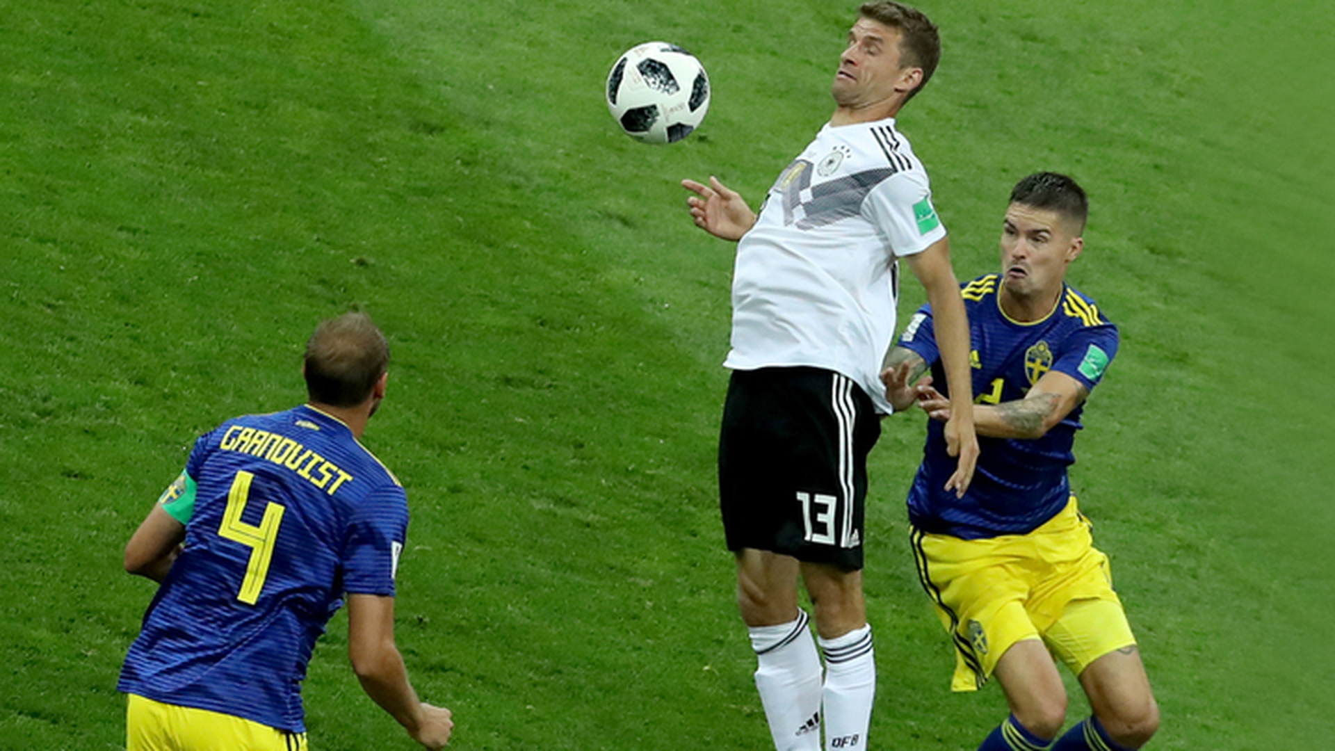 Немцы победили шведов вдесятером