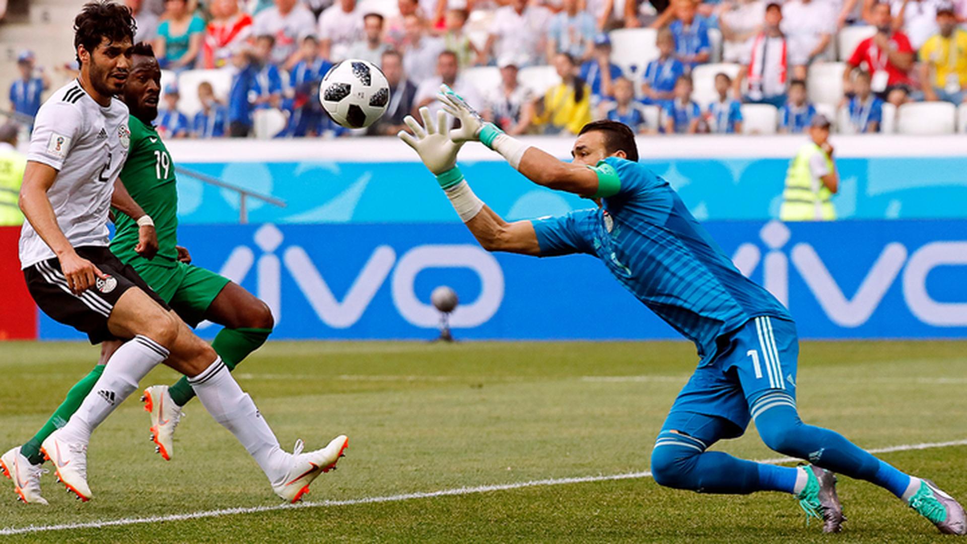 Сборная Саудовской Аравии обыграла Египет со счетом 2:1