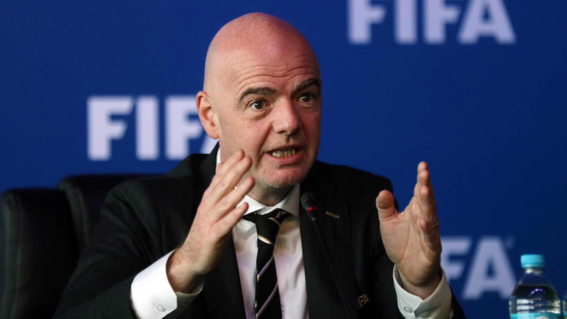 Джанни Инфантино: чемпионат мира меняет восприятие России Западом