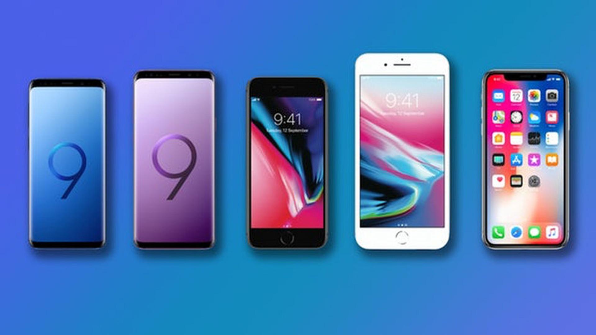 93b1f8890b427 Названы самые продаваемые смартфоны в мире: Samsung отстает