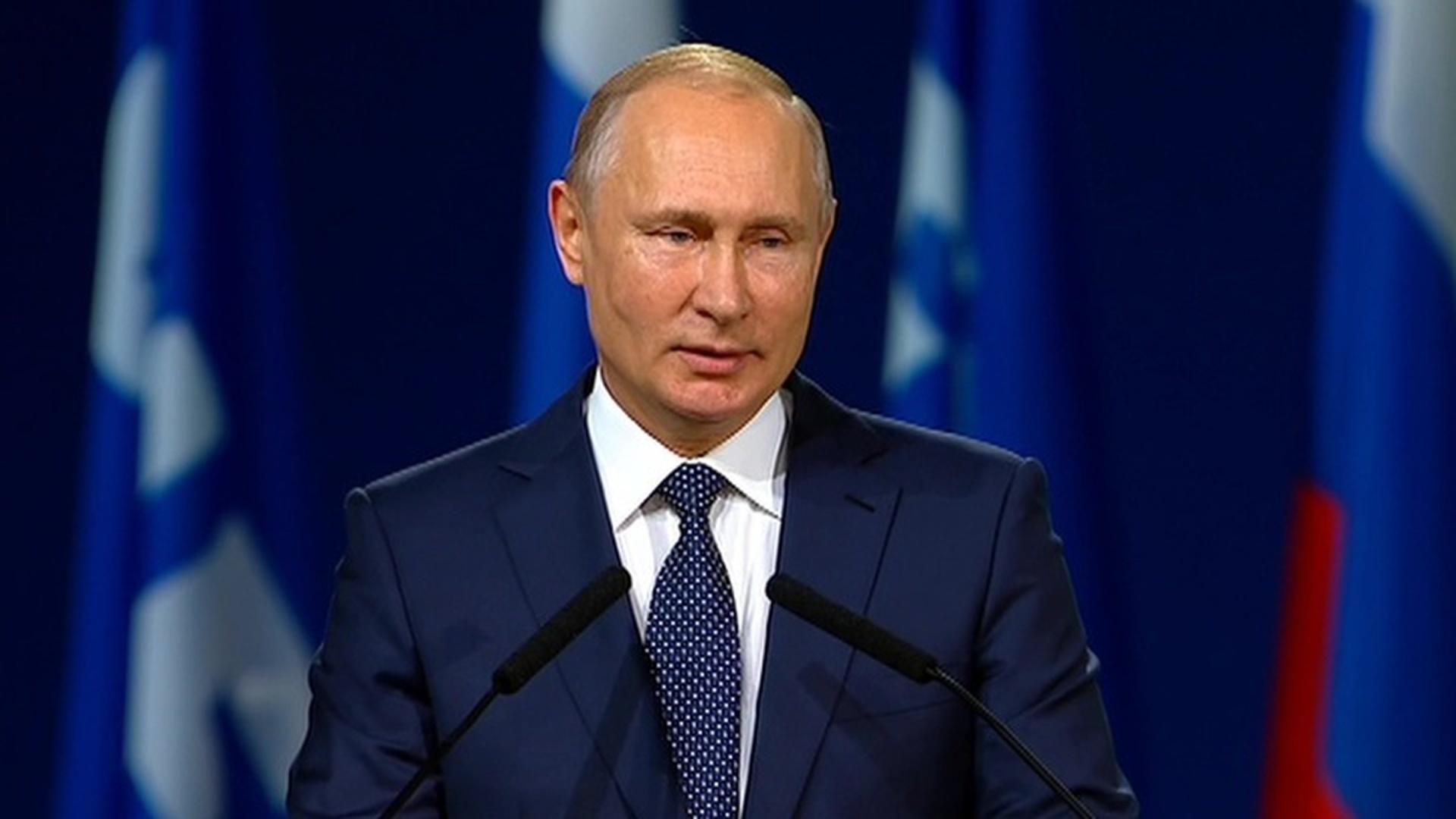 Владимир Путин посетит финал чемпионата мира по футболу