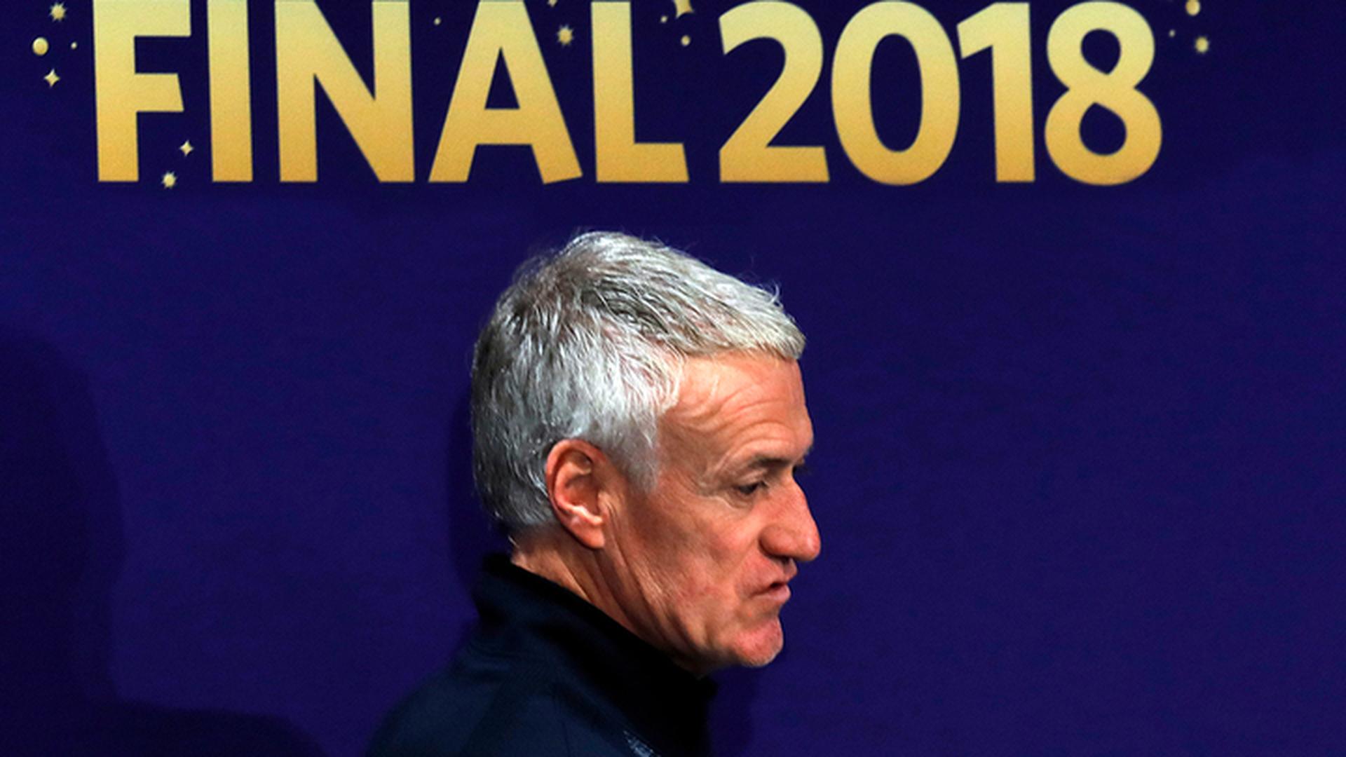 Тренер Франции Дешам: в финале нам нужно проявить три ключевых компонента