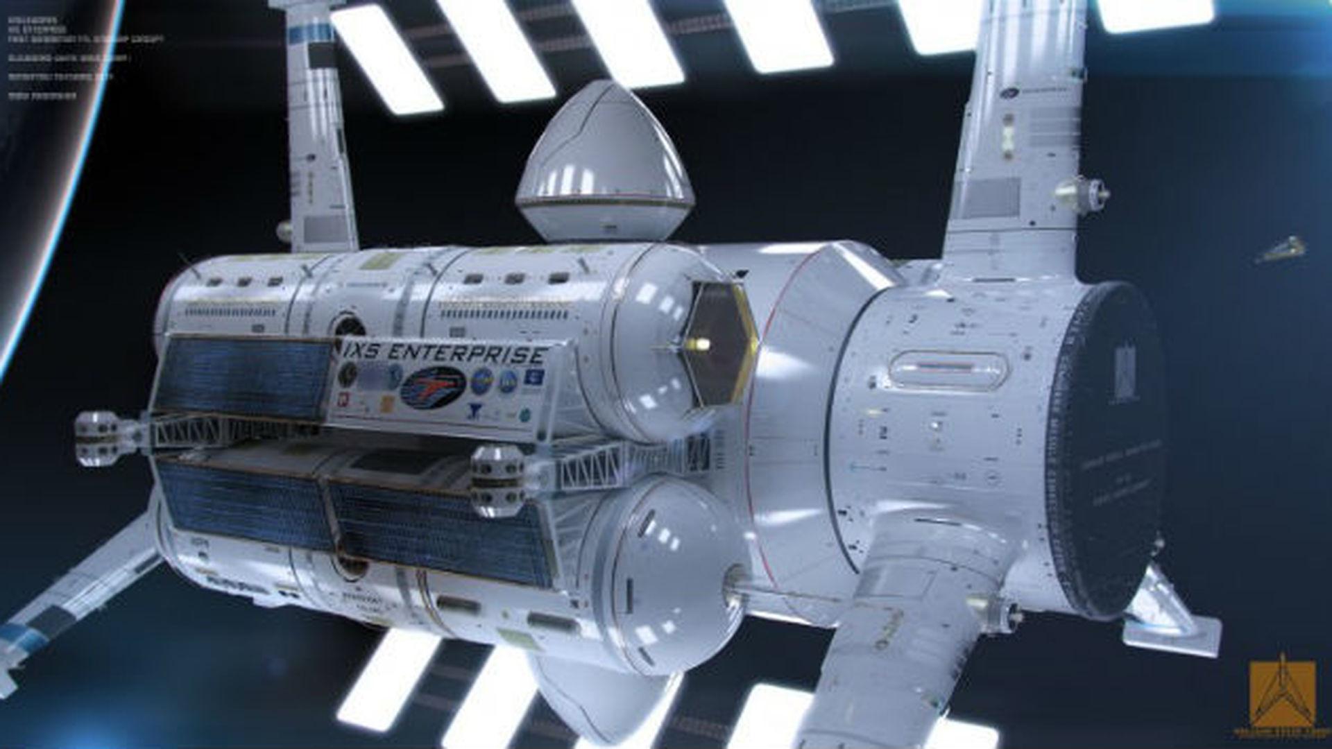 nasa future spaceship - HD2400×1331