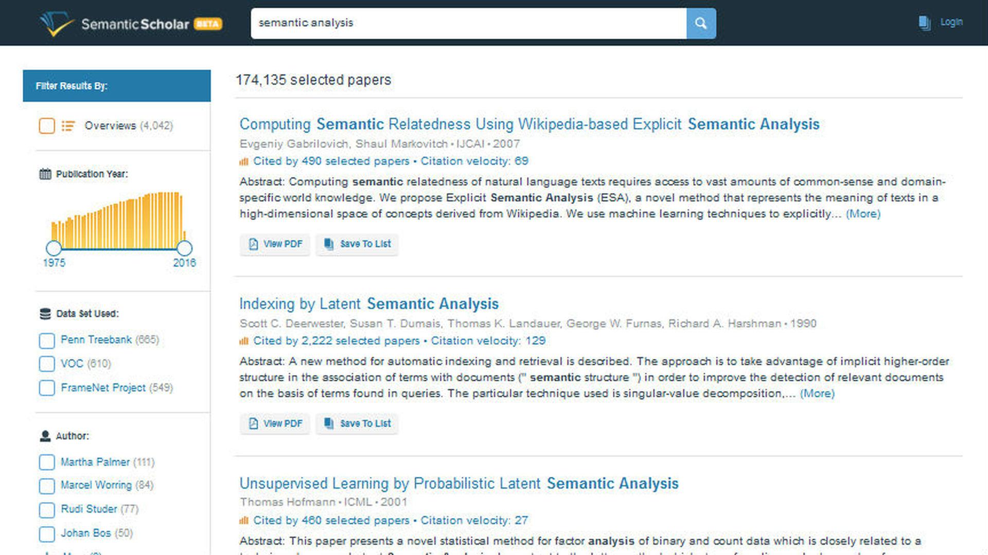Новая научная библиотека ищет нужные статьи с помощью