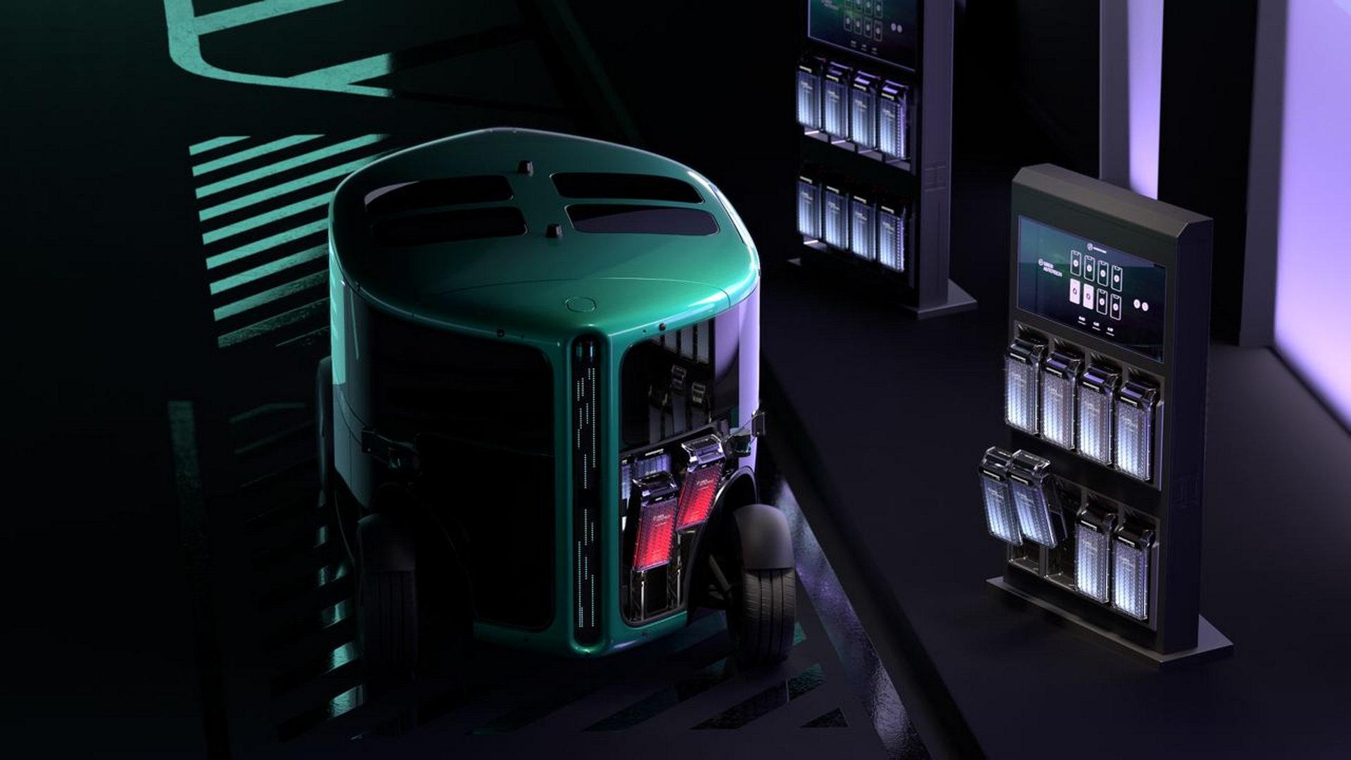 Сбер показал полностью автономный электрокар