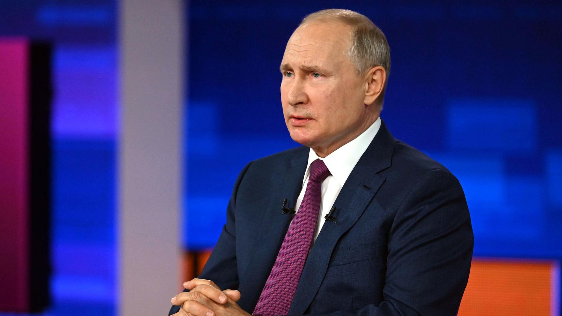 Прямая линия с Владимиром Путиным – 2021