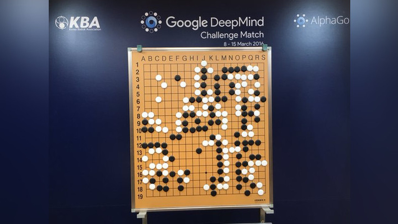 Искусственный интеллект отGoogle победил лучшего игрока вго впервой встрече
