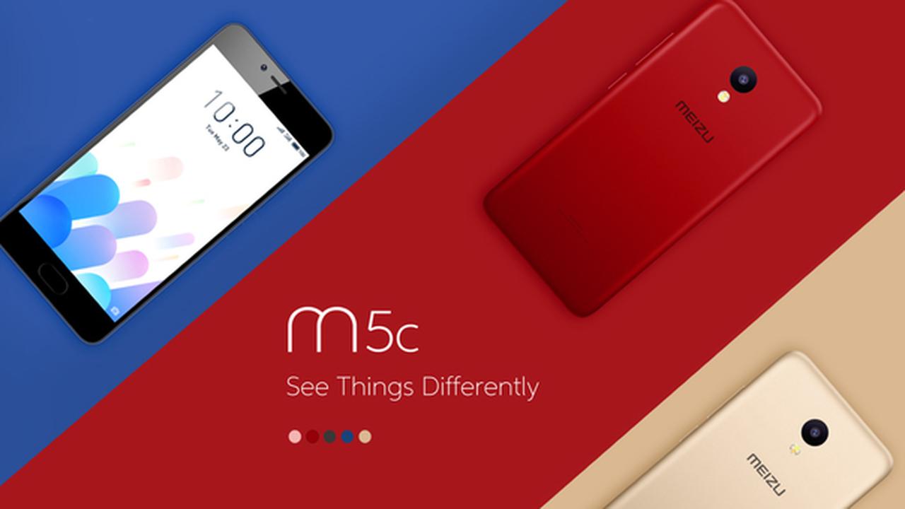 Meizu выпустила M5c дешевле 9 тысяч рублей