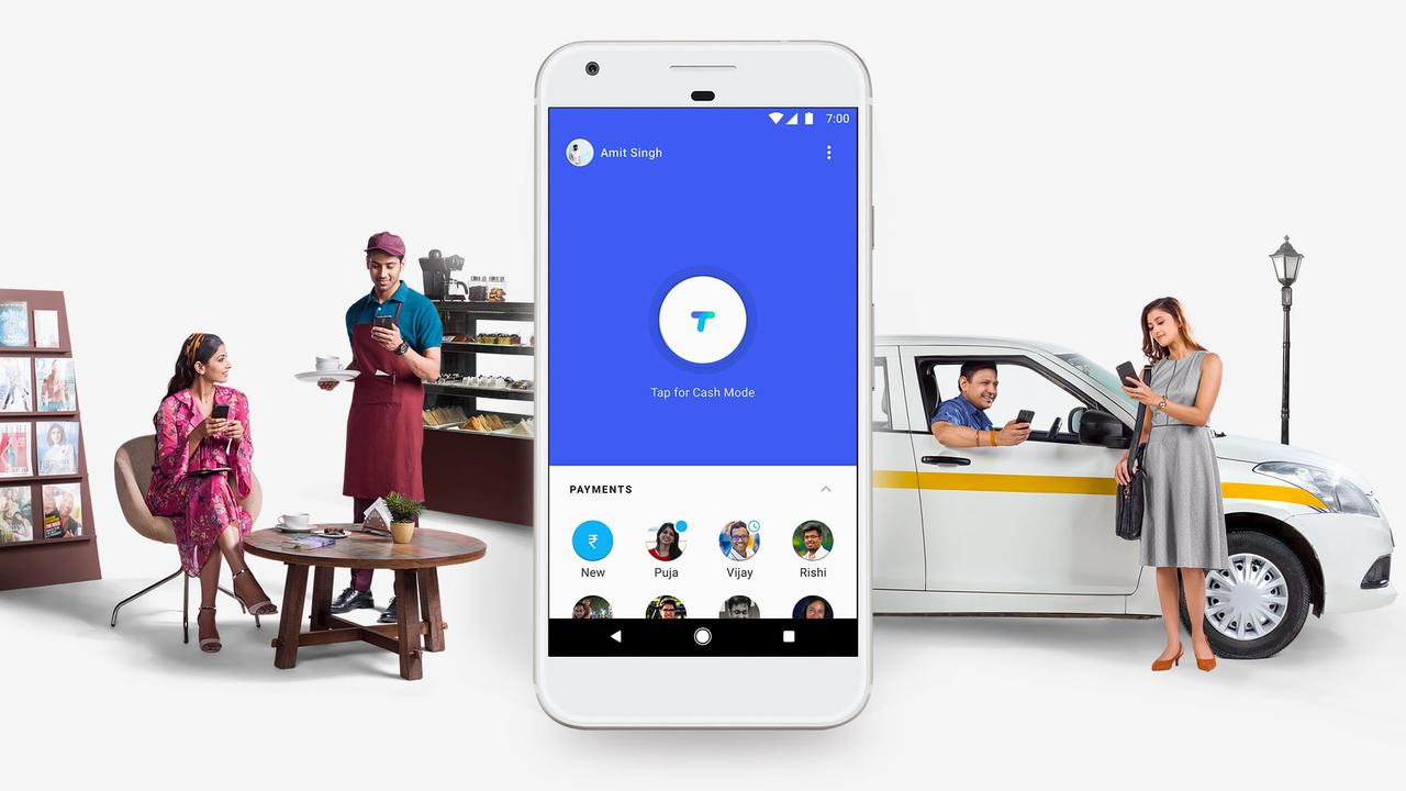 Google запускает вИндии платёжный сервис Tez