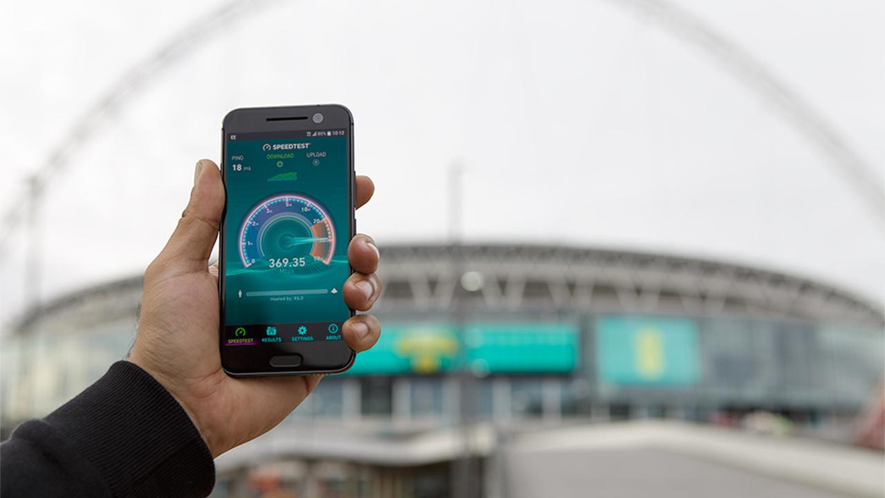 В столице скорость передачи данных 4G увеличилась на40%